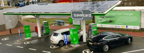 Travelcard tankstation