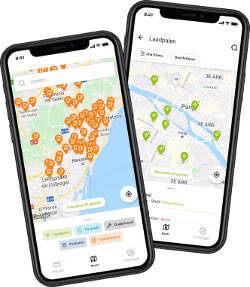 travelcard laadpalen app