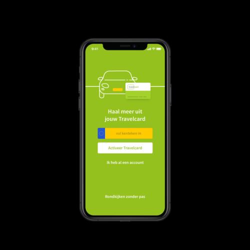 aanmelden travelcard app